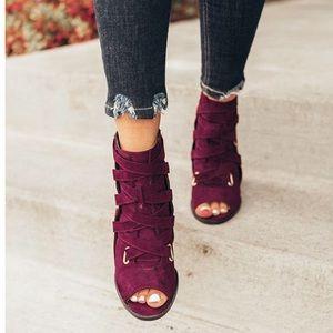 A Mermaid's Epiphany Shoes - 🆕Celine | Peep Toe Booties